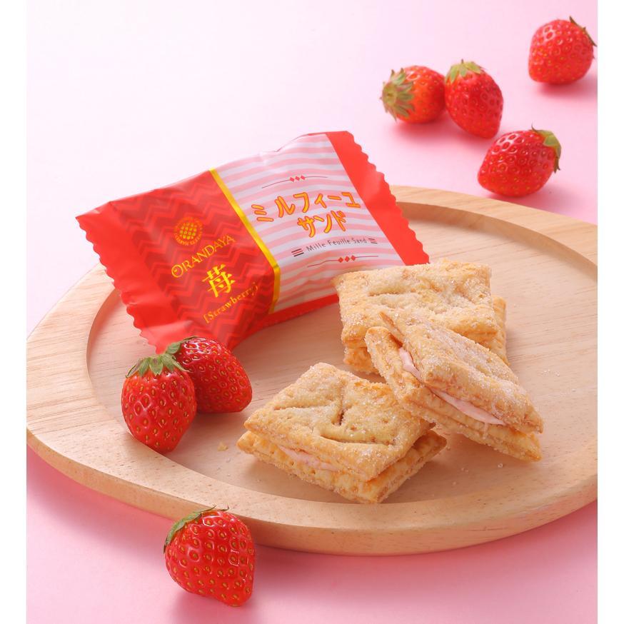 千の葉菓集 4(16個入 パイ:苺チョコ /MS:苺カプ ダク2種入)|chiba-orandaya|09