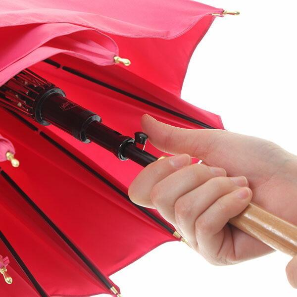 傘 超撥水 ウォーターフロント Waterfront ウォーターバリアクールマジックガールズ富山サンダージャンプ長傘 女性 レディース 晴雨兼用傘 CMGT-1L60-UJ-3T chicclover 09