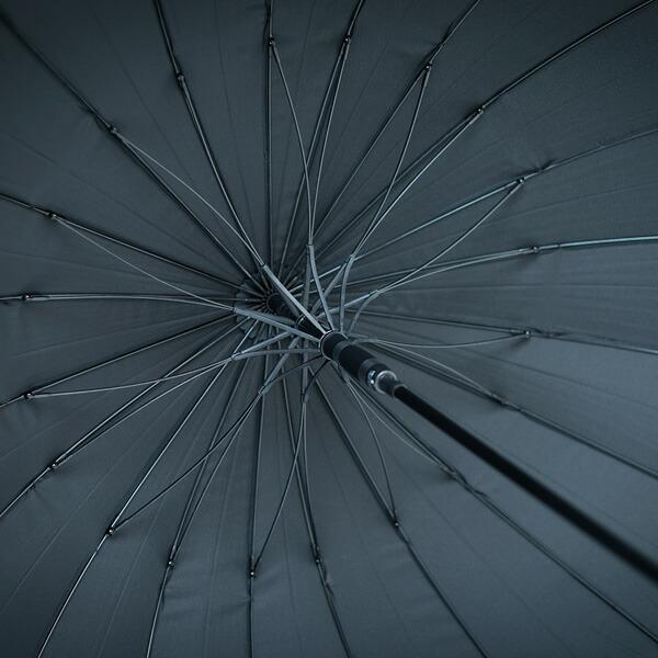 Waterfrontウォーターフロント 富山サンダー20本骨ジャンプ長傘 男性 雨傘 全4色 親骨65cm TS20-1L65-UJ-2T|chicclover|03