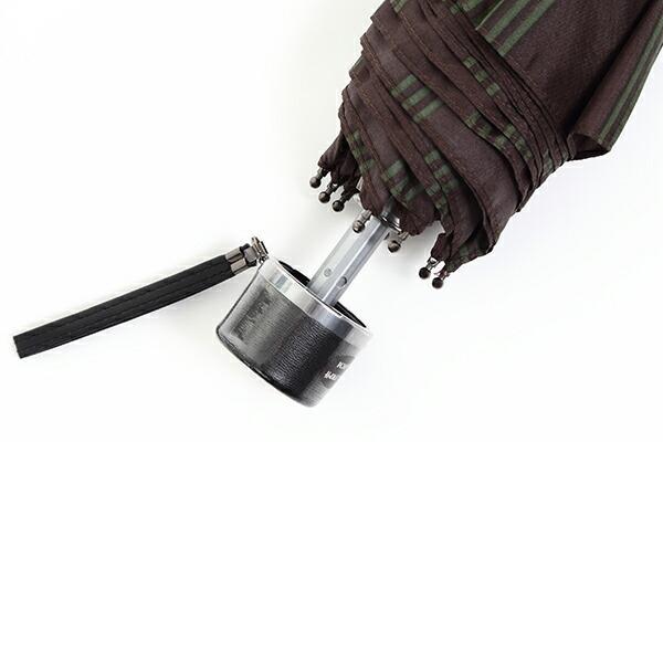 傘 Waterfront ストロングアーミーストライプ折りたたみ傘 男性 雨傘 全3色 親骨65cm STAST-3F65-UH-1T【店長おすすめ】 chicclover 11