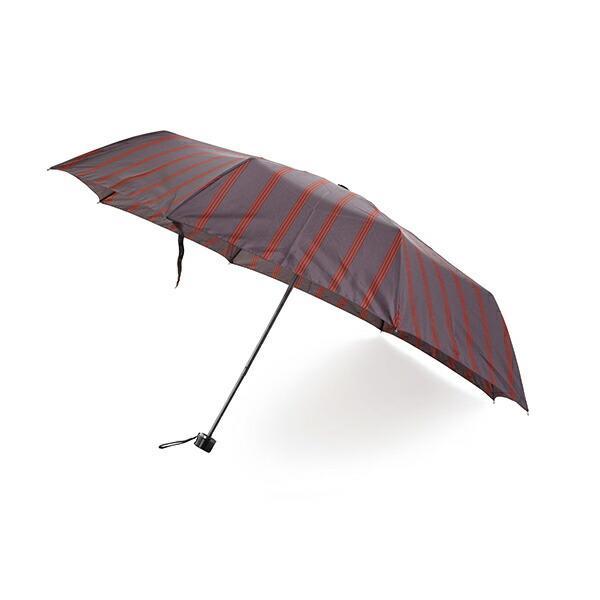 傘 Waterfront ストロングアーミーストライプ折りたたみ傘 男性 雨傘 全3色 親骨65cm STAST-3F65-UH-1T【店長おすすめ】 chicclover 15