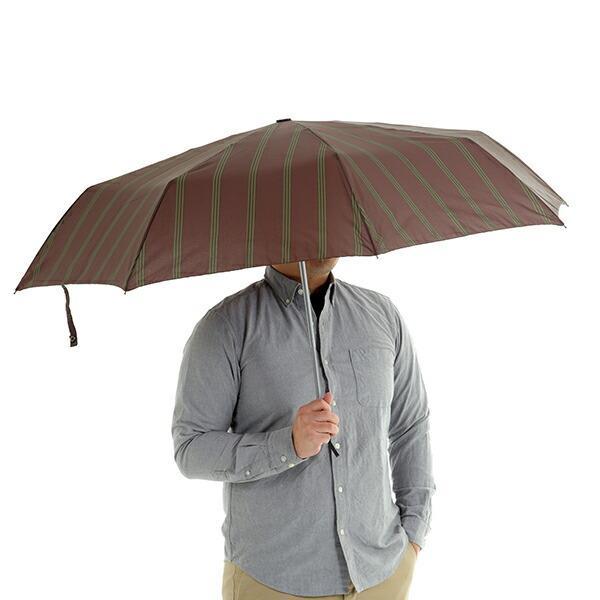 傘 Waterfront ストロングアーミーストライプ折りたたみ傘 男性 雨傘 全3色 親骨65cm STAST-3F65-UH-1T【店長おすすめ】|chicclover|07