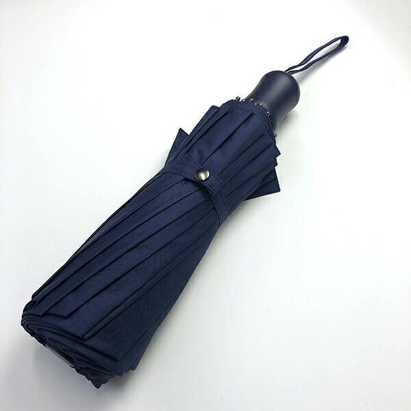 2020年新作 傘 メンズ ウォーターフロント Waterfront 16本骨折りたたみ傘 16RIB Folding Umbrella 男性 学生 晴雨兼用傘 雨傘 日傘 全2色|chicclover|04
