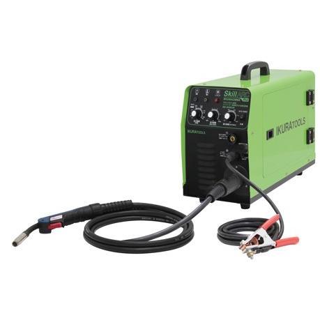 育良精機 インバーター制御半自動溶接機 ISK-SA160W