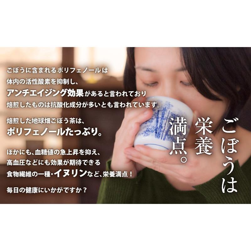 茶 効果 ごぼう