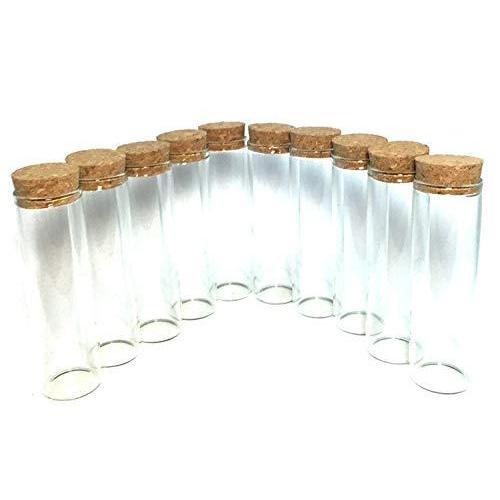 超特価セール コルク瓶 コルク ビン コルク栓付 ガラス 容器 保存瓶 おしゃれインテリア ガラス瓶 花瓶 10*3cm (12 chill-89