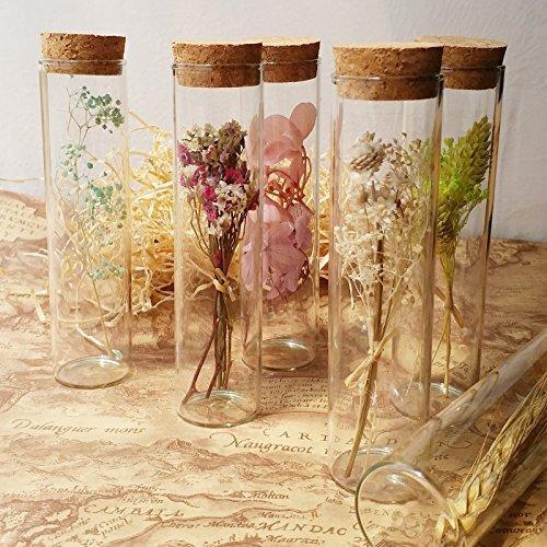 超特価セール コルク瓶 コルク ビン コルク栓付 ガラス 容器 保存瓶 おしゃれインテリア ガラス瓶 花瓶 10*3cm (12 chill-89 04