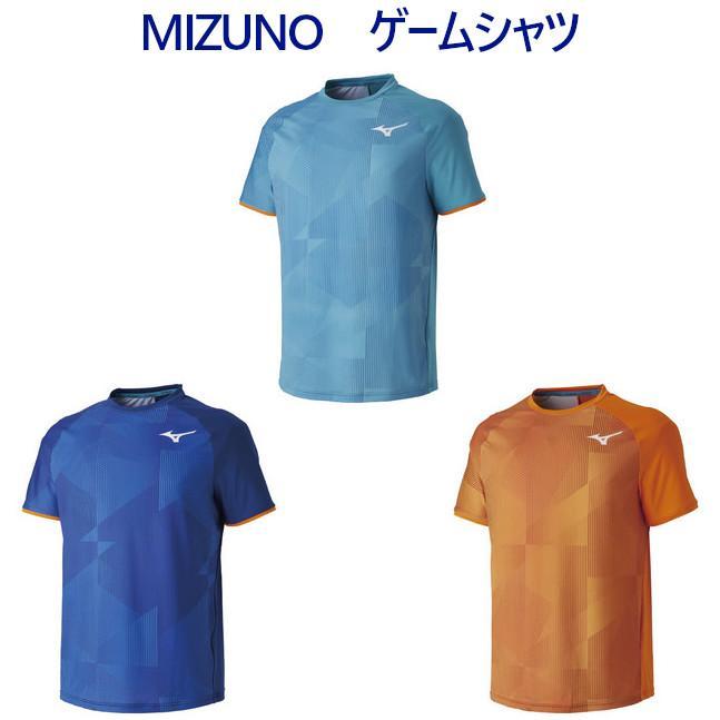 ミズノ ゲームシャツ 62JA9101 メンズ 2019SS バドミントン テニス ソフトテニス ゆうパケット(メール便)対応 2019最新 2019春夏