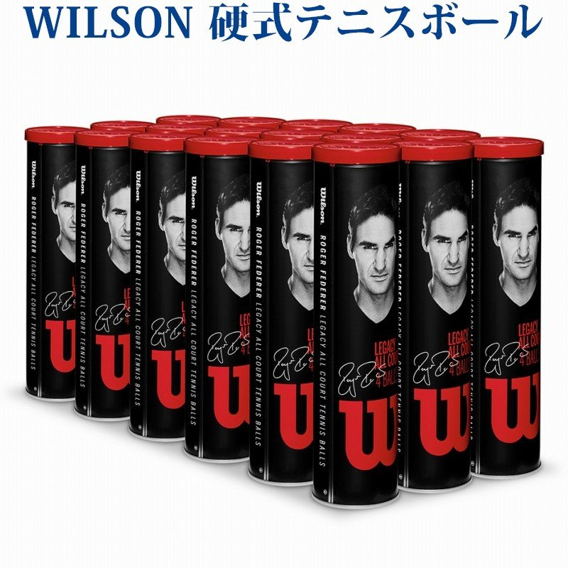 最新コレックション ウイルソン 硬式テニスボール RF レガシーボール WRT11990M 18缶1箱 2018SS WRT11990M RF 2018SS, 北海道マルシェ:017e7c0b --- airmodconsu.dominiotemporario.com