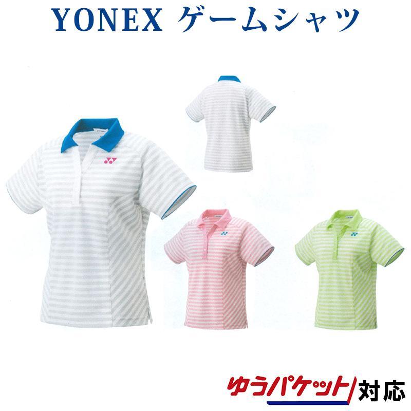 ヨネックス ゲームシャツ 20442 レディース 2018AW バドミントン テニス ゆうパケット(メール便)対応 2018新製品 2018秋冬