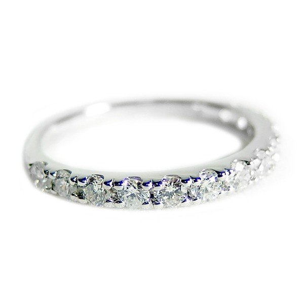 美しい ダイヤモンド リング ハーフエタニティ 0.5ct 11.5号 プラチナ Pt900 0.5カラット エタニティリング 指輪 鑑別カード付き, アークスSHOP df815156