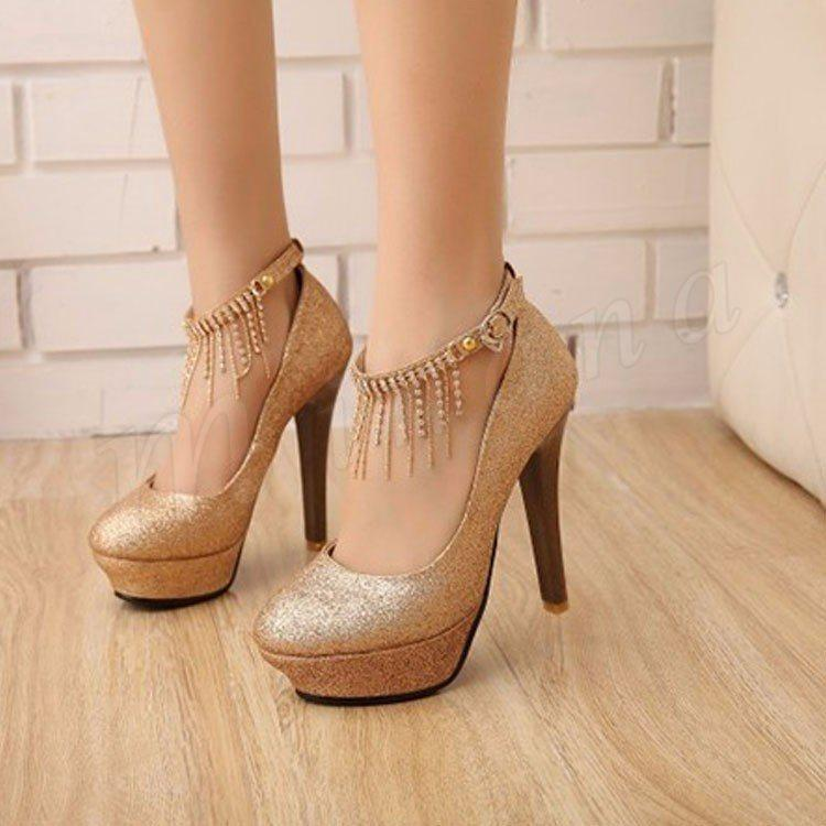 1e8d39eade8bb ... 美脚パンプス 大きいサイズ ウェディング靴 パール ハイヒール レディース靴 ウェディングドレスに欠かせない ...