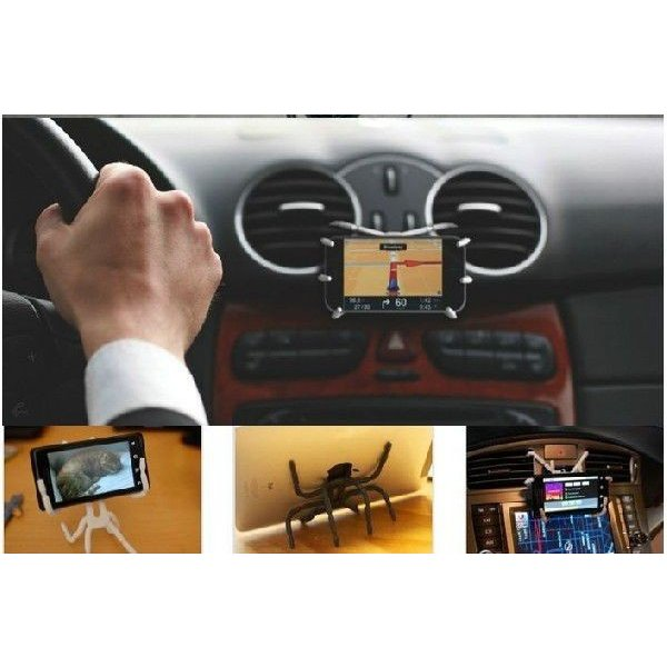 車載ホルダー 可愛いクモ スマートフォン tabスタンド  ピアス アクセサリー |chobobubu|02