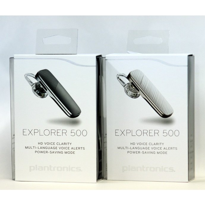 Bluetooth ブルートゥース イヤフォン ヘッドセット ハンズフリー イヤホンマイク Plantronics プラントロニクス Explorer500(エクスプローラー500)|chobt|06
