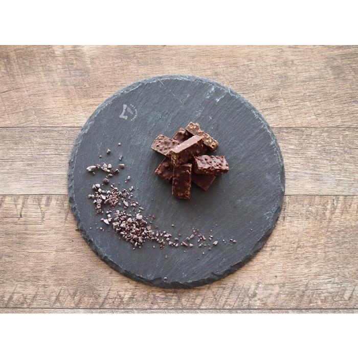 【訳あり カカオ70% クランチチョコ 380g 1000円ポッキリ】送料無料 チョコレート 効果 カカオニブ入り ハイカカオ チョコレート|chocodone|09