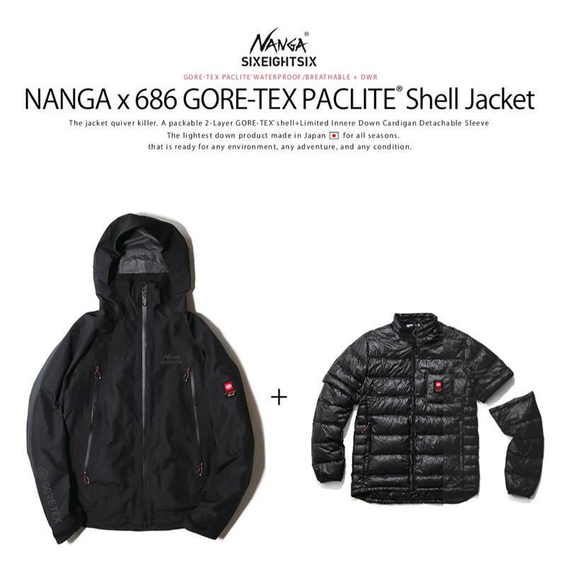 20FALL NANGA x 686 GORE-TEX PACLITE Shell Jacket