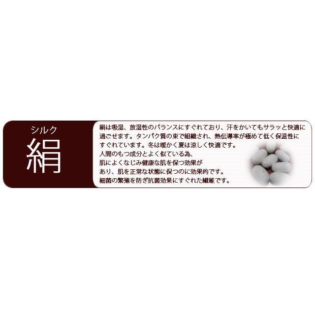 シルク湯上りくつした(M-Lサイズショート丈)(絹)(くつした)(hp169shortml) chokucobin 04