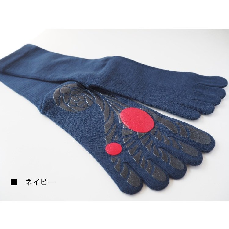 【ガッツマン】ゴルフのための滑らない五本指ソックス(VAMONOS) 踏ん張れる ぶれない スイング安定|chokucobin|05