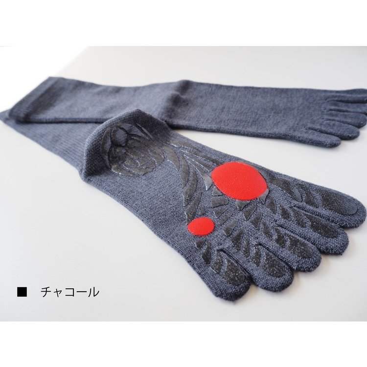 【ガッツマン】ゴルフのための滑らない五本指ソックス(VAMONOS) 踏ん張れる ぶれない スイング安定|chokucobin|07