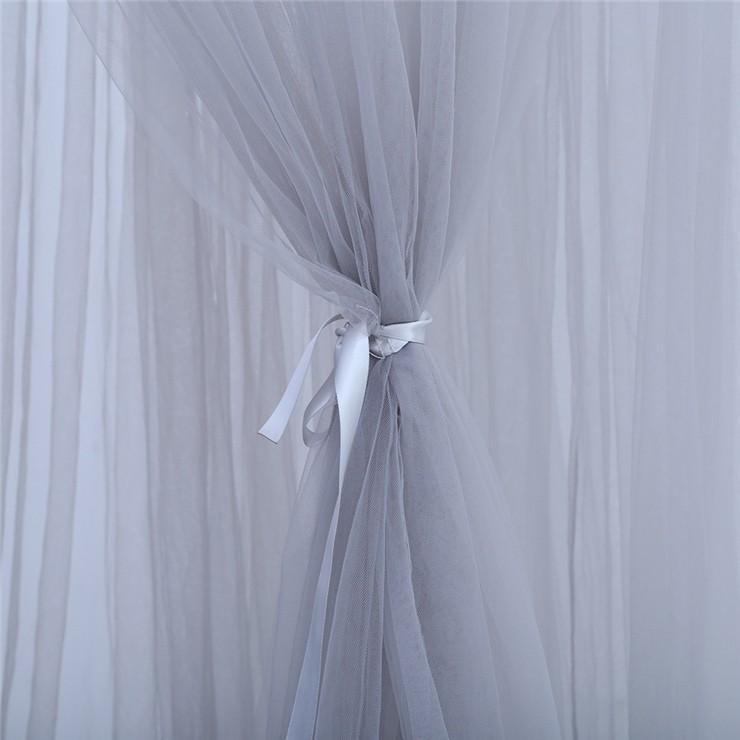 【星飾り付】7層紗製モスキートネット/スリーピングカーテン/キャノピー/モスキーノテント/天蓋ベッド風/蚊帳/かや/遊ぶテント/吊るし具付/子供部屋/北欧|chokuten-shop|08