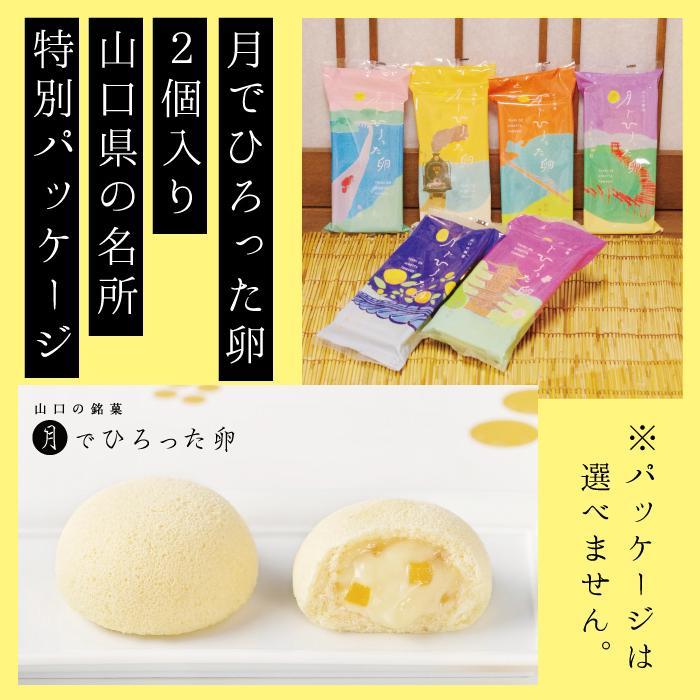 月でひろった卵 2個入り 山口銘菓 お土産 無料 新着セール 人気