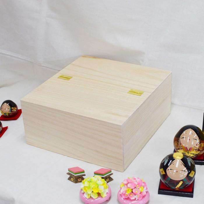 雛人形 大内ひな 2021 大内人形 大内塗工房ふるや 折りたたみ型 おひなさま 山口 送料無料 choshuen-y 09
