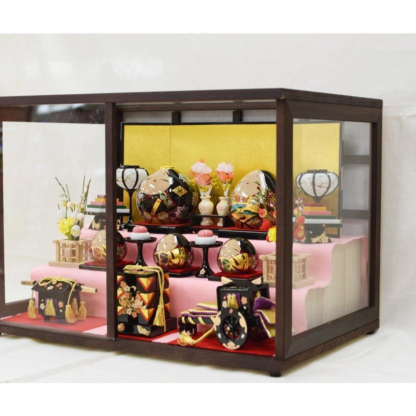 雛人形 大内ひな 2021 大内人形 大内塗工房ふるや 一点物 おひなさま 山口 送料無料|choshuen-y|05