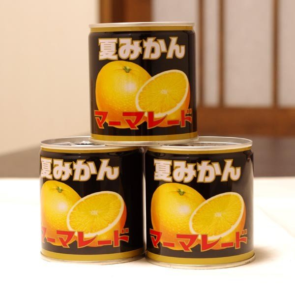 夏みかんマーマレード 缶 370g 山口 お土産 |choshuen-y|03