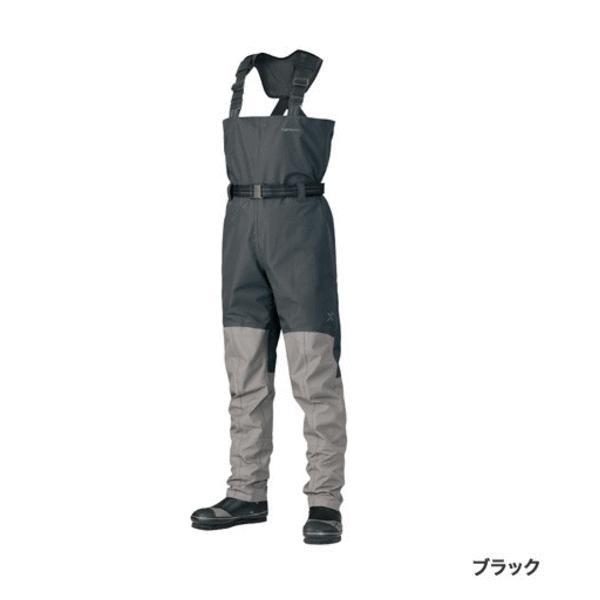 ≪'18年9月新商品!≫ シマノ XEFO アクトゲーム ウェーダー WA-228R ブラック Lサイズ