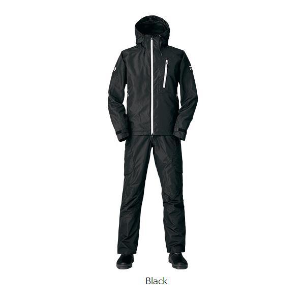 ≪新商品!≫ ダイワ レインマックス(R) ハイロフト ウィンタースーツ DW-3105 ブラック XLサイズ