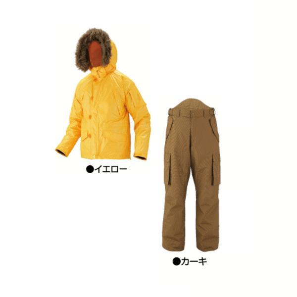 【新製品!】 がまかつ ライトフィールドスーツ GM-3269 イエロー LLサイズ