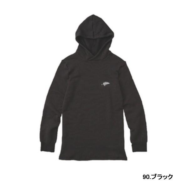 ≪'18年10月新商品!≫ ハヤブサ レイヤーテック フーデッドアンダーシャツ+ Y1662 ブラック(90) LLサイズ