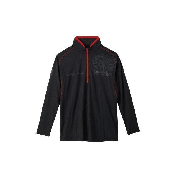≪'19年4月新商品!≫ サンライン テラックス クールドライ シャツ(長袖) SUW-5570CW ブラック Lサイズ