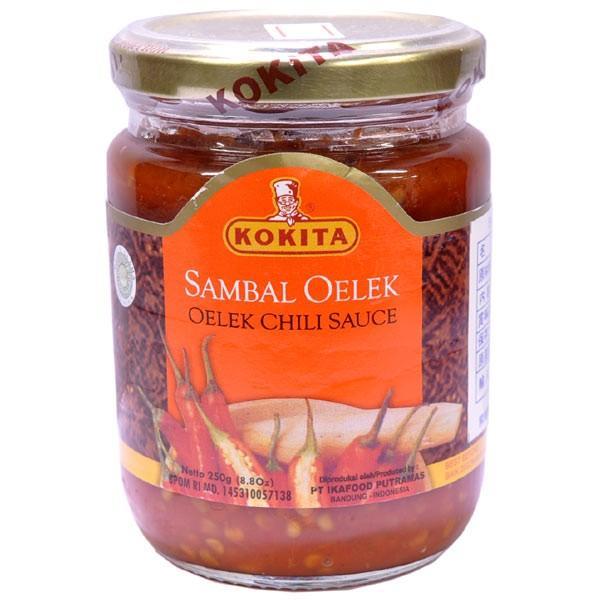 通販 サンバルオレック SAMBAL OELEK 値下げ チリソース インドネシアの調味料 250g