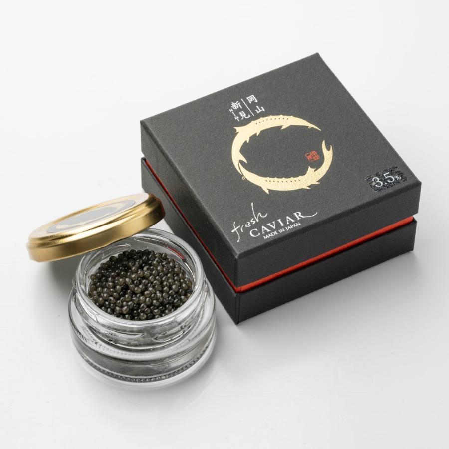 新見フレッシュキャビア(塩分3.5%)15g 送料別|chouzameya
