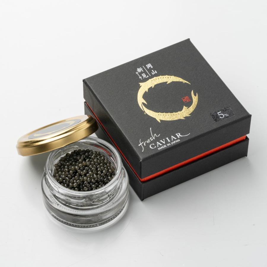 新見フレッシュキャビア(塩分5%)15g 送料別|chouzameya
