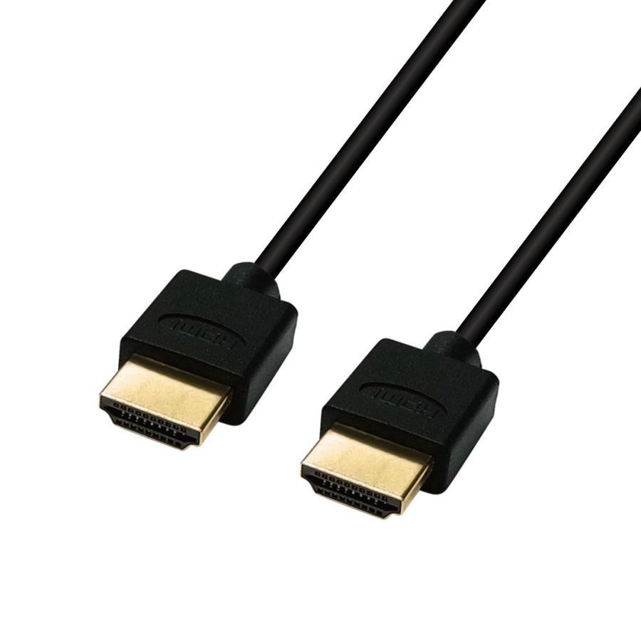 Hanwha スリム 4.2mm HDMIケーブル 3m [1年保証/相性保証][Ver2.0b][8K/4K/3D/イーサネット/オーディオリターン][ハイスピード][コンパクト端子][高耐久やわらか|chowise-shop