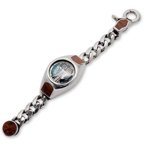 【T-ポイント5倍】 Wood/Silver Inlaid Watch w/Wood Case Classic Wood/Silver Links w/Wood Inlaid Classic Clip(ウッド/シルバーウォッチケースクラシックリンクw/ウッドインレイドクラシッククリップ), ヨシカワマチ:9ffd5ee3 --- airmodconsu.dominiotemporario.com
