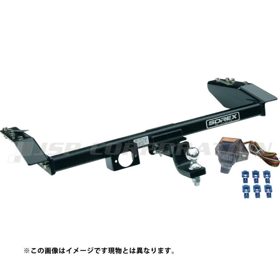 RAV4 ACA31/36W 角型スチールヒッチメンバー Bクラス 【メーカー品番:SRX-HT-T-121】 SOREX/ソレックス