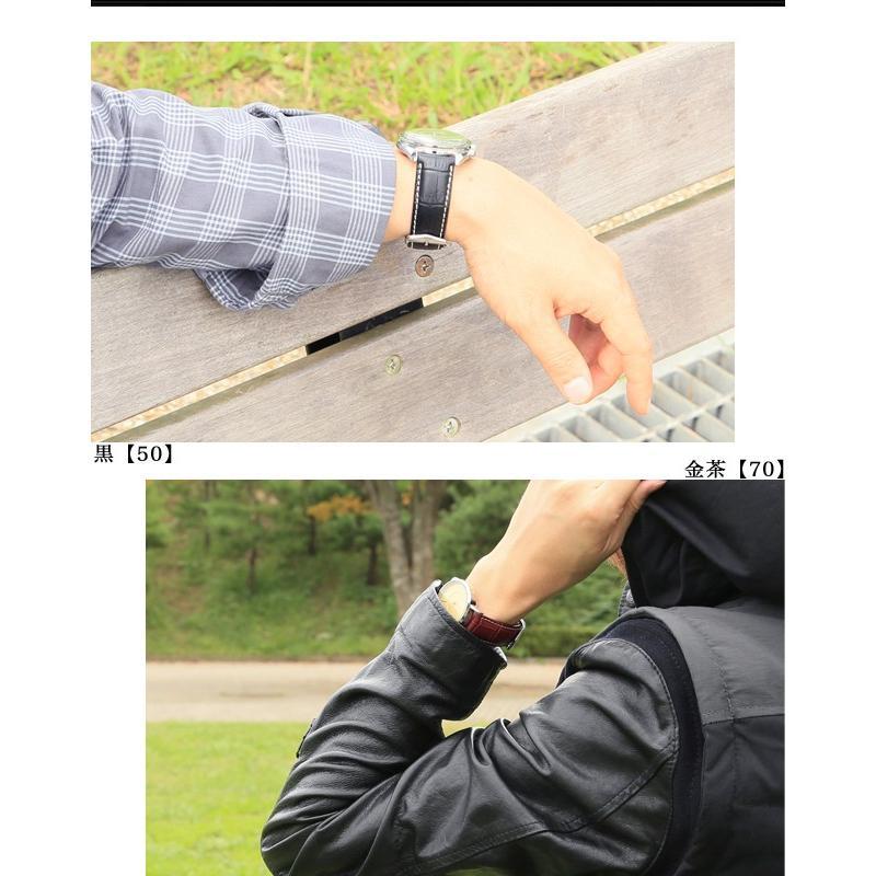 時計 ベルト バンド HIRSCH Modena モデナ アリゲーター型押し レザー 革 18mm 19mm 20mm 22mm 24mm chronoworldjapan 04