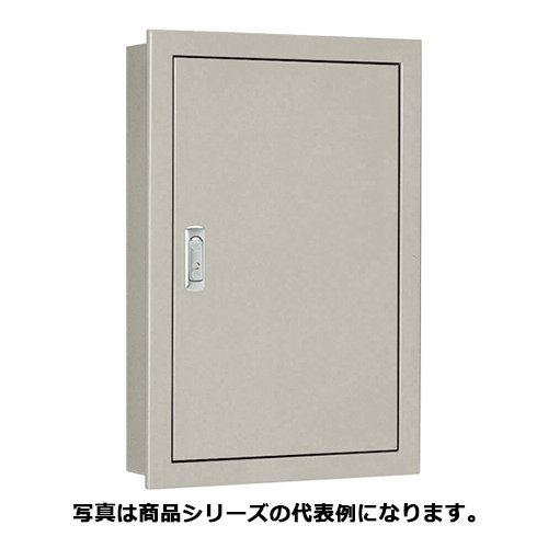 日東工業 SF14-43 盤用キャビネット・埋込形 鉄製基板 ライトベージュ塗装 フカサ:140mm