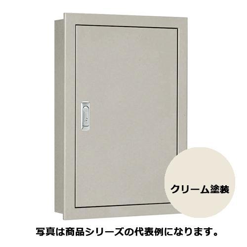 日東工業 SF16-816-1C 盤用キャビネット・埋込形 鉄製基板 クリーム塗装 フカサ:160mm