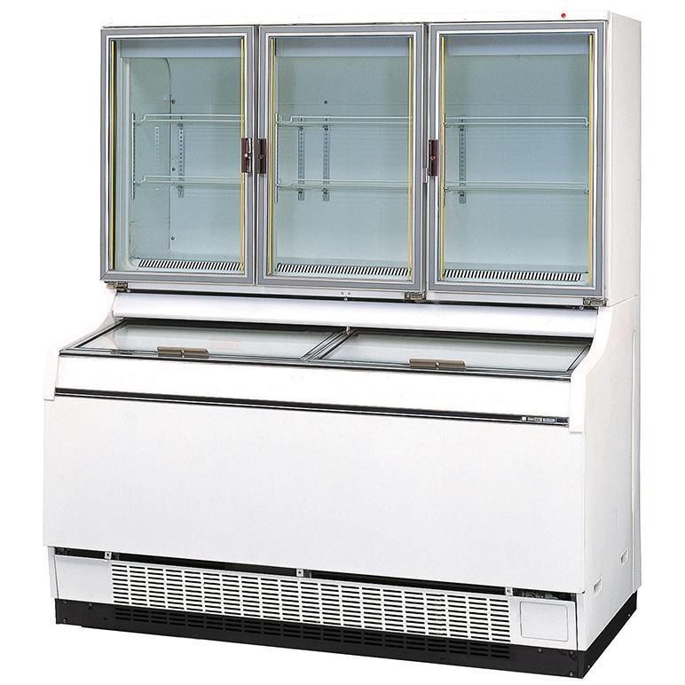 送料無料 新品 サンデン アイスフリーザー(デュアルタイプ)GSR-D1503ZC