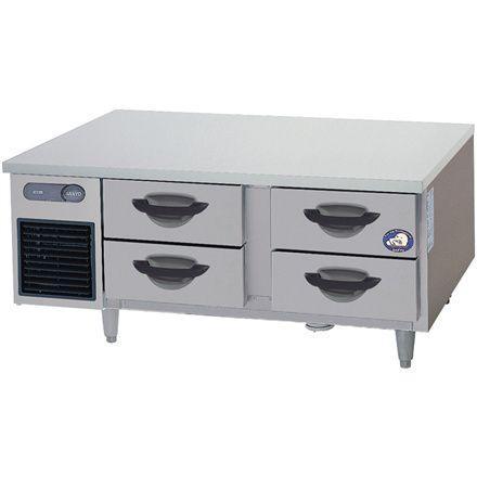 送料無料 新品 パナソニック(旧サンヨー) ドロワー冷蔵庫 SUR-DG1261-2A