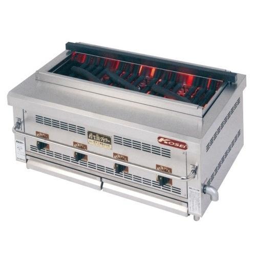 グリラー 業務用 遠赤倖生炭グリラー万能型 KA-75G LPガス メーカー直送/代引不可(7-0711-0603)