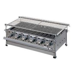 焼き台 ガス式 バーベキューコンロ BQ-4 LPガス プロパン メーカー直送/代引不可(7-0719-0703)