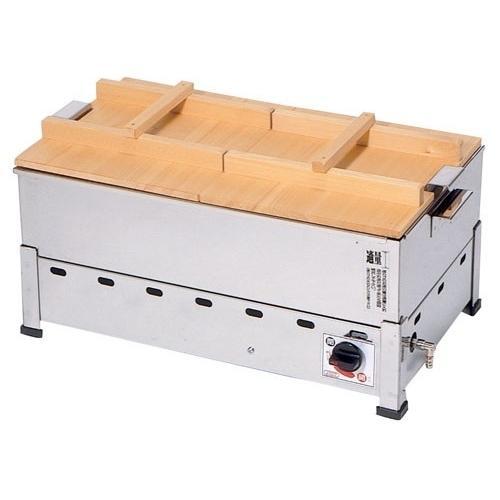 業務用おでん鍋 業務用 湯煎 ステンレス製 KOT-1-L LPガス メーカー直送/代引不可(7-0775-0103)