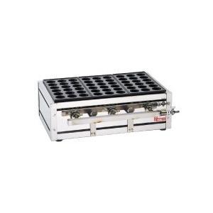 業務用 たこ焼き器 たこやき器 タコ焼き器 大だこ焼器(18穴) ETL-183 LPガス メーカー直送/代引不可(7-0930-0201)