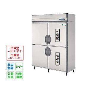 フクシマ 冷凍冷蔵庫 厚型 幅1490×奥行800 内装ステンレス鋼板 インバーター制御タイプ IRD-152PM3 冷凍室647L冷蔵室647L 単相100V