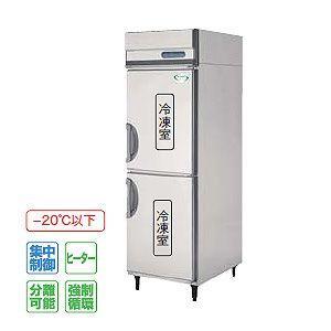 フクシマ 冷凍庫 薄型 幅610×奥行650 内装ステンレス鋼板 インバーター制御タイプ IRN-062FM3 389L 単相100V